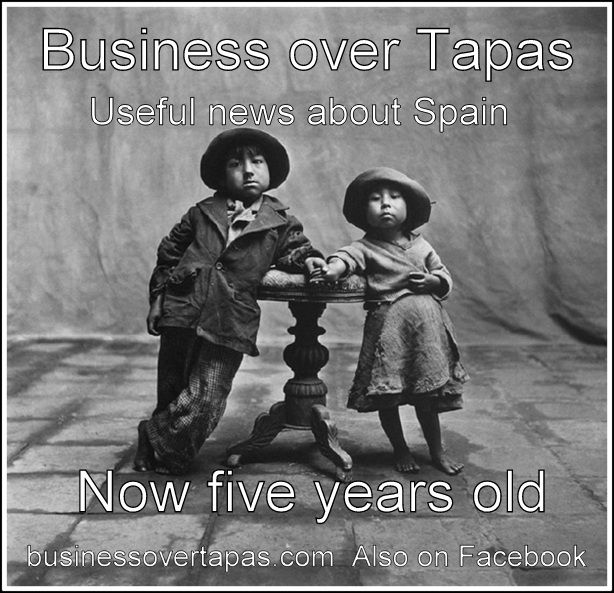 Business over Tapas Five yrs old